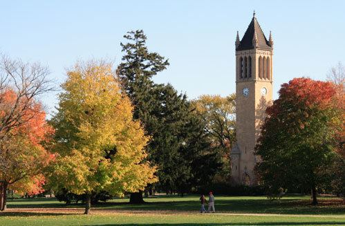 Campanile (Iowa State University) Carillon bells will be ringing Saturday Inside Iowa State