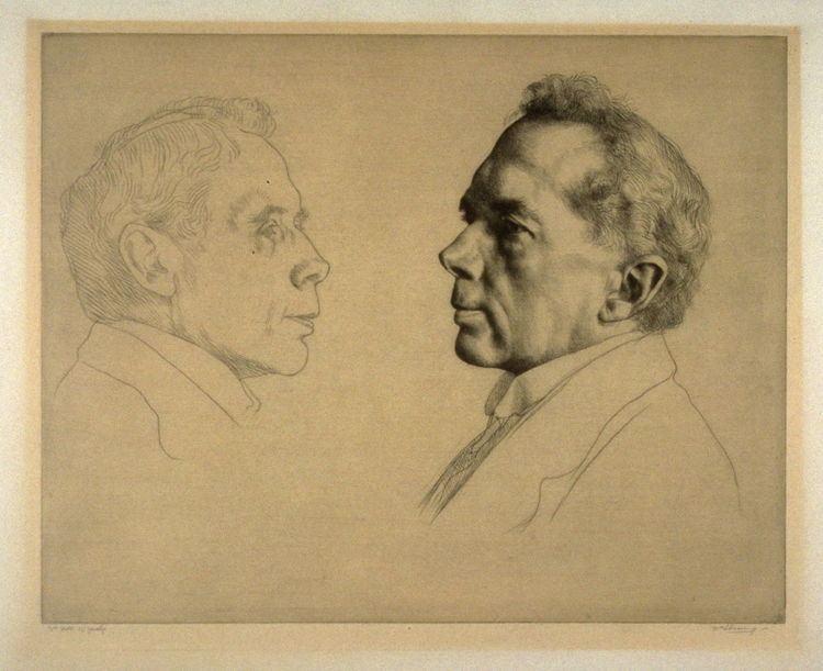 Campbell Dodgson Portrait of Campbell Dodgson William Strang FAMSF Explore the Art