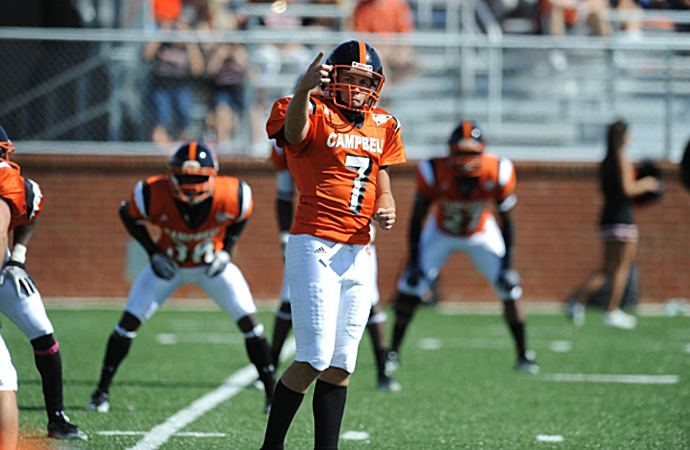 Campbell Fighting Camels football PioneerFootballorg Campbell39s Eberwein earns presigious NCAA