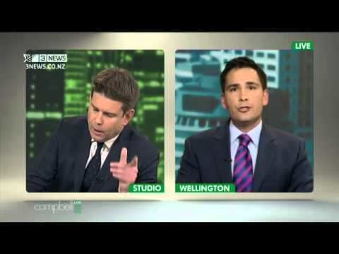 Campbell Live john campbell interviews simon bridges FULL campbell live YouTube