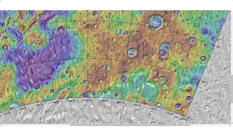 Campbell (Martian crater)