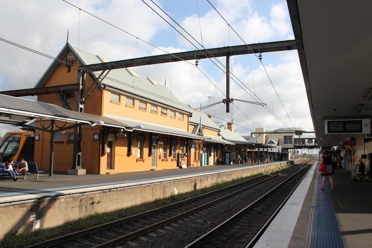 Campbelltown railway station