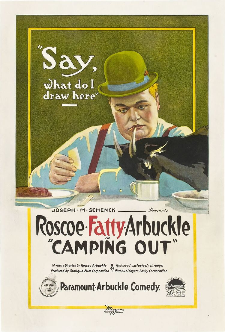 Camping Out (film) movie poster