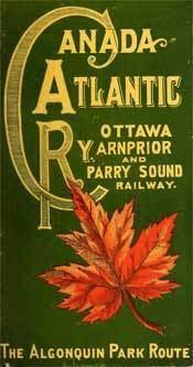 Canada Atlantic Railway wwwcanadarailcomimagesCARtimetablejpg