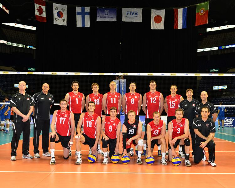 Canada men's national volleyball team FIVB Men39s World League 2013