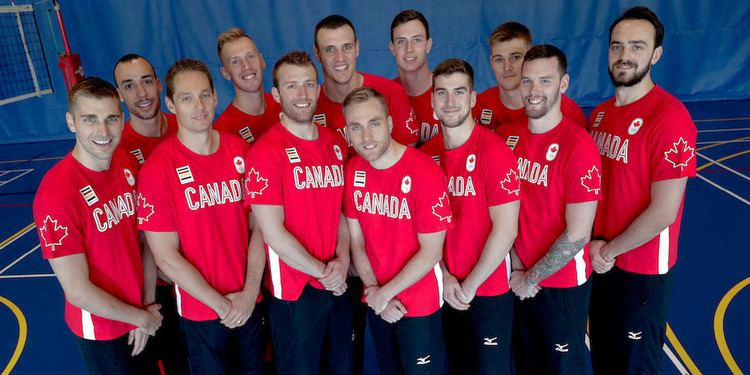 Canada men's national volleyball team Canadian Men39s Volleyball Team Nominated for Rio 2016 CSIO