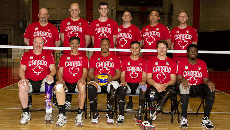 Canada men's national volleyball team Sitting volleyball squads selected by Volleyball Canada for