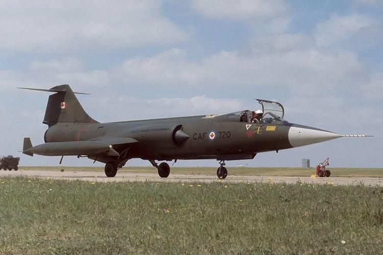 Canadair CF-104 Starfighter FileLockheed Canadair CF104 Starfighter CL90 Canada Air