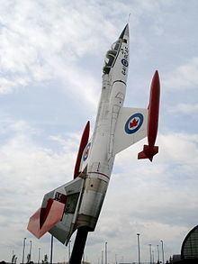 Canadair CF-104 Starfighter httpsuploadwikimediaorgwikipediacommonsthu