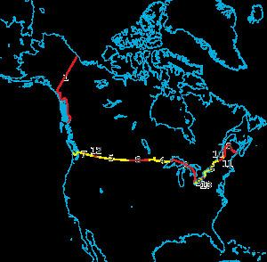 Canada–United States border CanadaUnited States border Wikipedia