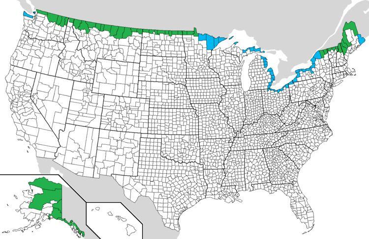 Canada–United States border CanadaUnited States border Familypedia Fandom powered by Wikia