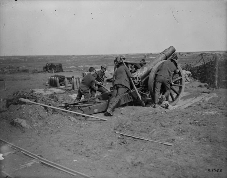 Canadian Expeditionary Force artillery from Prince Edward Island