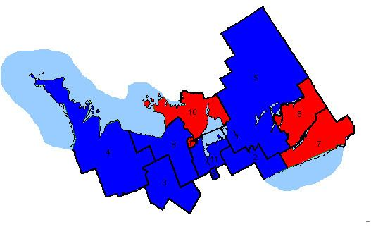 Canadian federal election results in Central Ontario