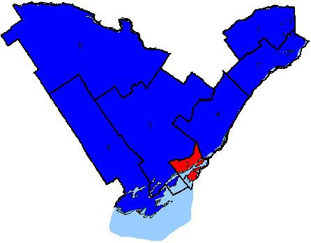 Canadian federal election results in Eastern Ontario