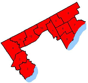 Canadian federal election results in Suburban Toronto