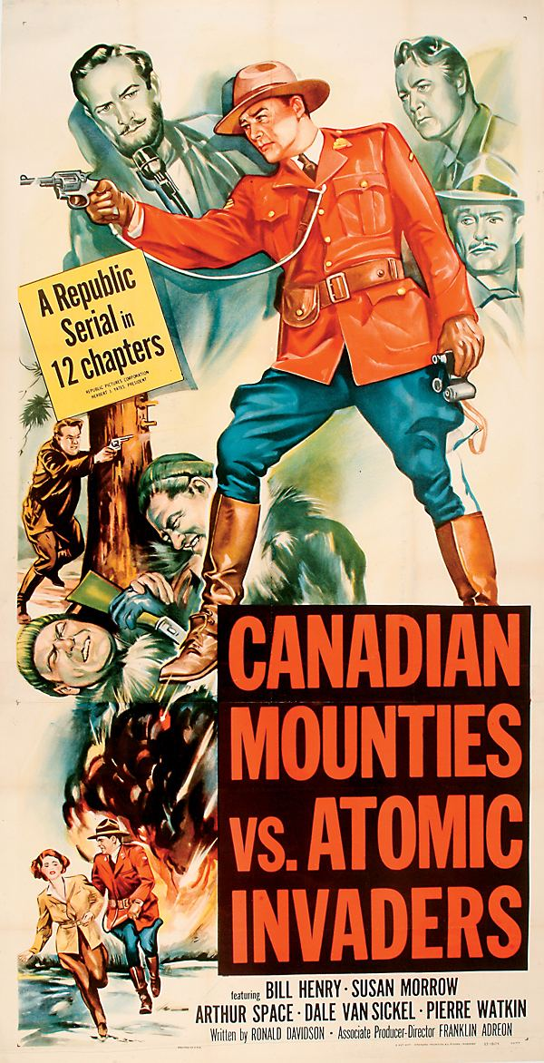 Canadian Mounties vs. Atomic Invaders Canadian Mounties vs Atomic Invaders 11 x 17 Movie Poster Style