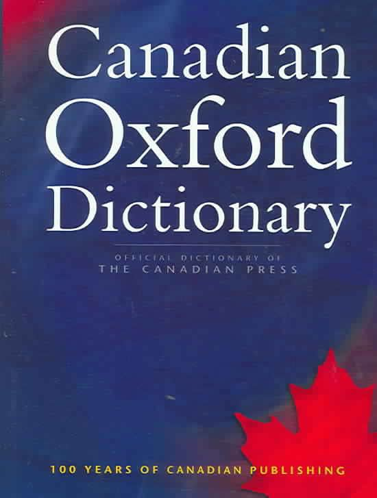 Canadian Oxford Dictionary t0gstaticcomimagesqtbnANd9GcTlALi1PR0YrKeSYe