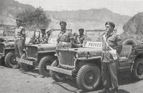 Canadian Provost Corps UN PROVOST KOREA