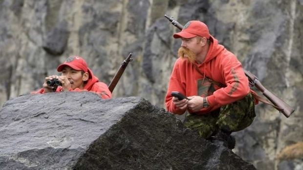 Canadian Rangers Canadian Rangers the thin red line patrolling our harshest terrain