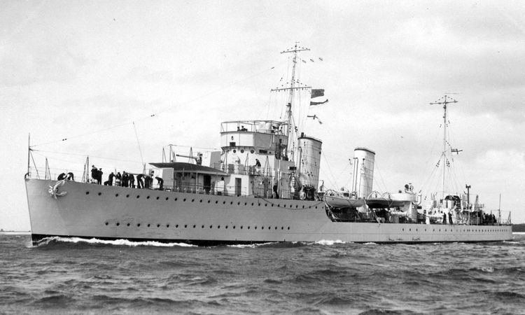 Canadian River-class destroyer