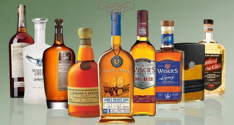 Canadian whisky Canadian Whisky Guide Gentleman39s Gazette