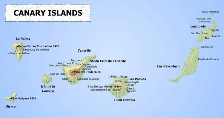 Canary Islands Guide To The 7 Main Canary Islands Costas Online