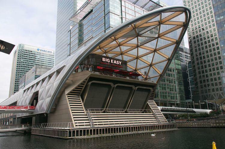 Canary Wharf railway station