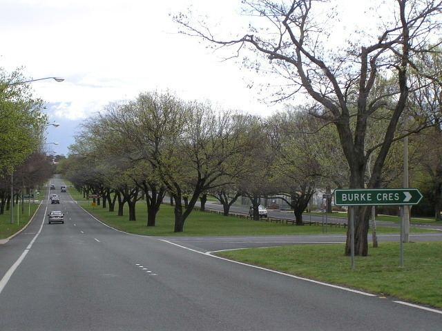 Canberra Avenue wwwozroadscomauACTCanberra20Avemainpic23JPG