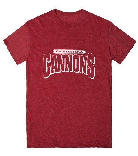 Canberra Cannons Canberra Cannons TShirt SKREENED