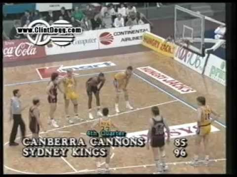 Canberra Cannons NBL 1989 Basketball Highlights 08of13 SEMI FINAL GAME 2 CANBERRA