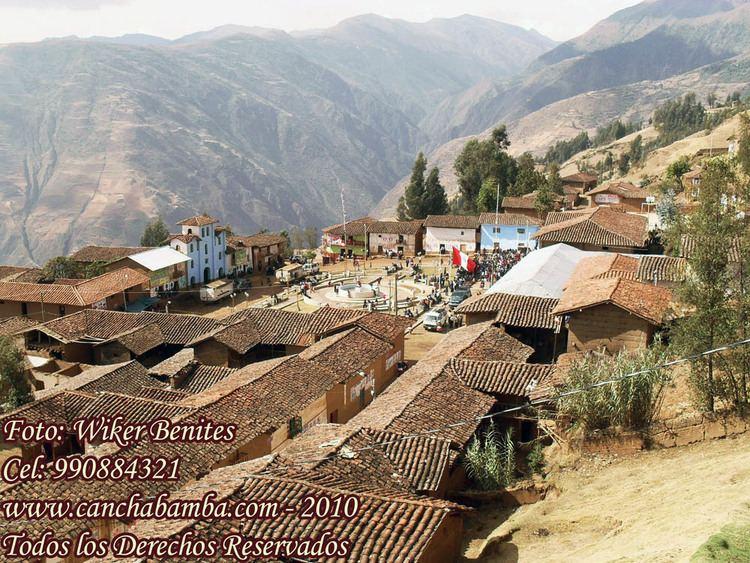 Canchabamba District httpsuploadwikimediaorgwikipediacommonsdd
