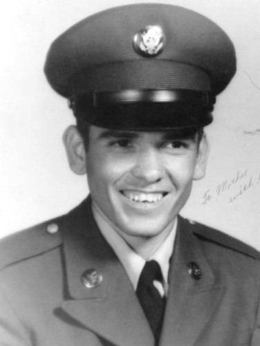 Candelario Garcia Photo of Medal of Honor Recipient Candelario Garcia