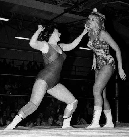 Candi Devine Classic Women39s Wrestling 1950s And a decade or so later