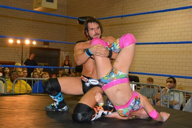 Candice LeRae Candice LeRae VS Johnny Gargano Absolute Intense Wrestling