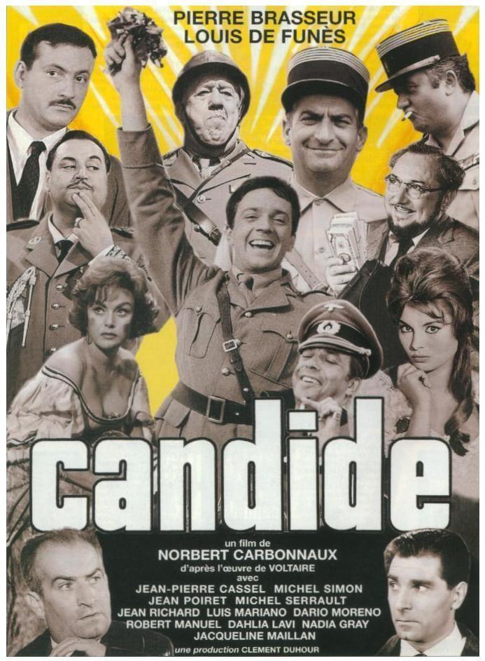 Candide ou l'optimisme au XXe siècle wwwcinemapassioncomlesaffichesCandideoulopt