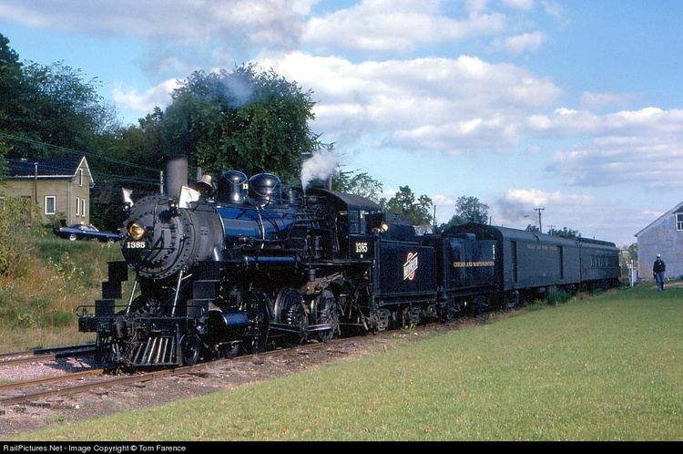 C&NW 1385 RailPicturesNet Photo CNW 1385 Chicago amp North Western Railroad