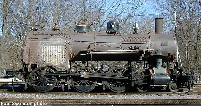 C&NW 1385 CampNW 1385 Steam Status MidContinent Railway Museum