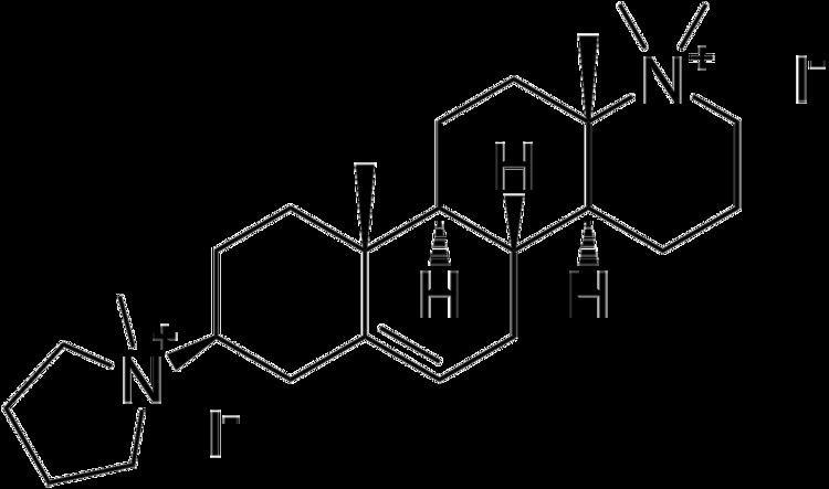 Candocuronium iodide httpsuploadwikimediaorgwikipediacommonsthu