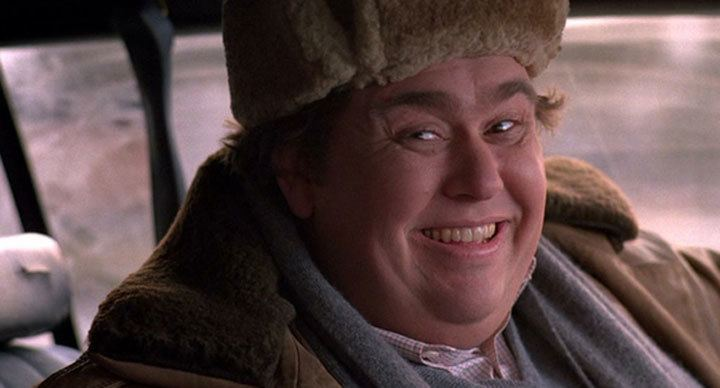 Candy Candy movie scenes John Candy pictured in a scene from the comedy Uncle Buck