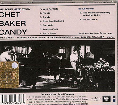 Candy (Chet Baker album) httpsimagesnasslimagesamazoncomimagesI6