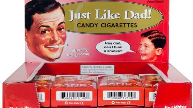 Candy cigarette History39s Dumpster Candy Cigarettes