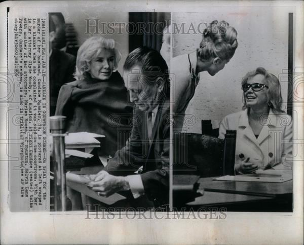 Candy Mossler 1966 Press Photo Candace Candy Mossler incest homicide