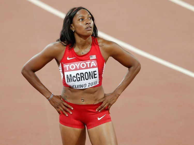 Candyce McGrone Former Warren Central sprinter eyes history at World