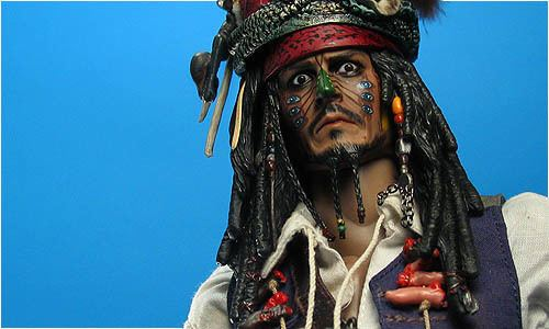 Cannibal King COOL TOY REVIEW Hot Toys Cannibal King Jack Sparrow Disney Pirates