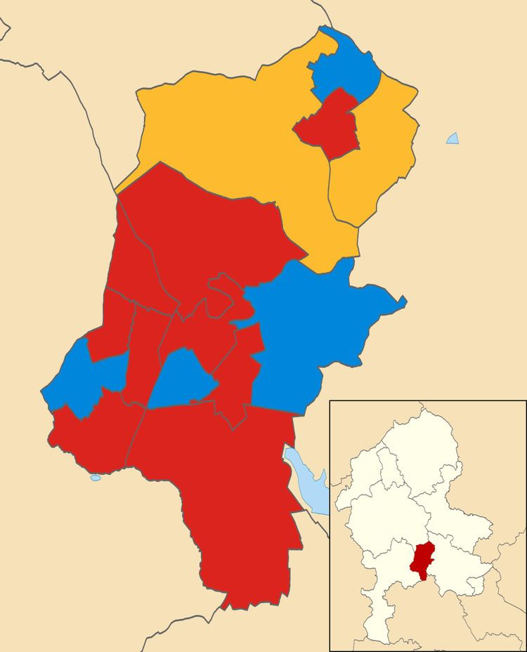 Cannock Chase District Council election, 2011