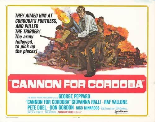 Cannon for Cordoba Cannon For Cordoba movie posters at movie poster warehouse