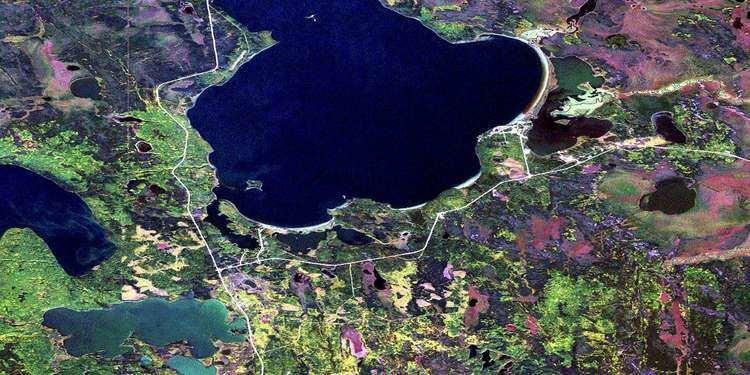 Canoe Lake (Saskatchewan) wwwcanmapscomtopomapsnts50toporamaorthoimage