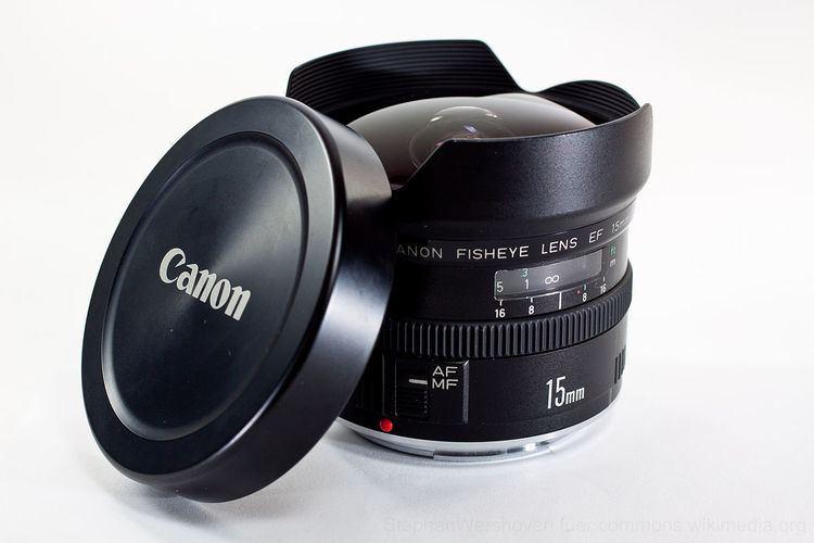 Canon EF 15mm lens