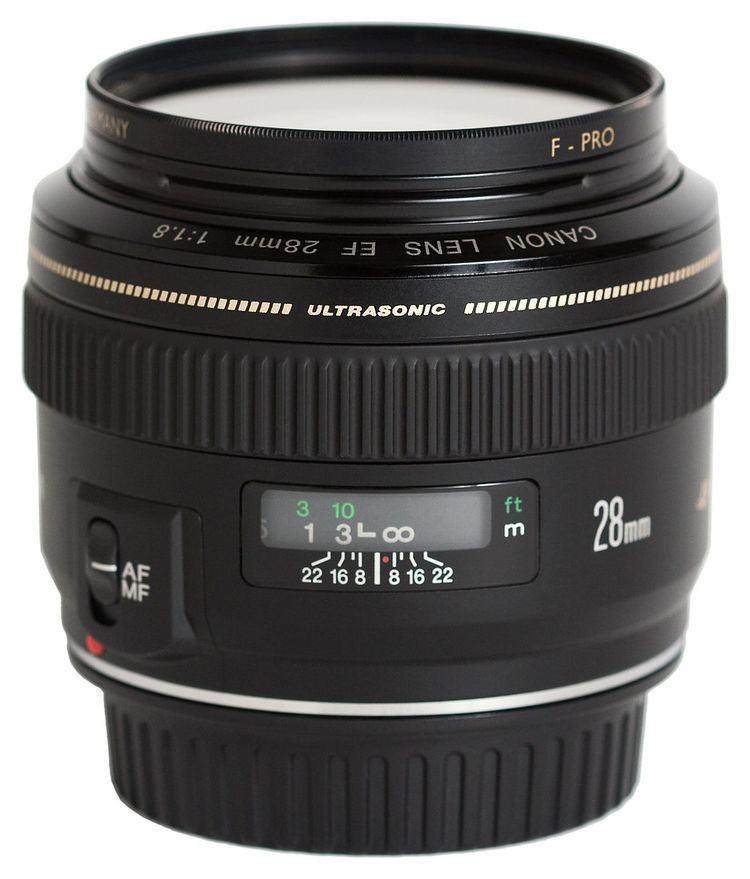 Canon EF 28mm lens