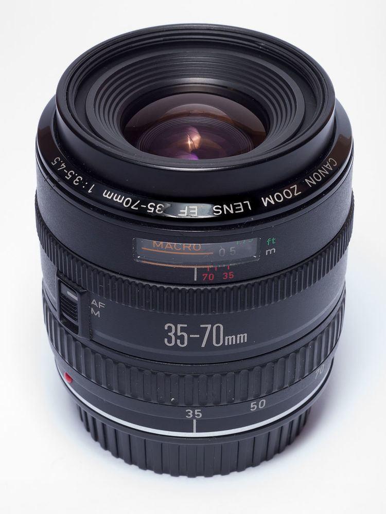 Canon EF 35-70mm lens